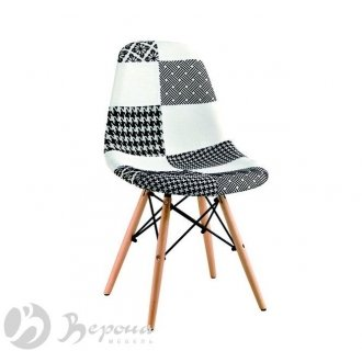 Стул Eames DSW Patchwork BW